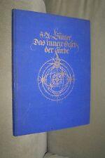 HA Bühler Das innere Gesetz der Farbe Eine künstlerische Farbenlehre 1930