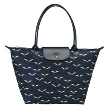ON HAND Authentic Longchamp Le Pliage Cruise Chevaux Ailes Tote Bag Large