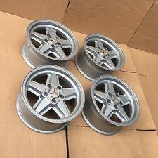 "Ronal R9 Wheels Rims 15"" Mercedes AMG Penta W123 W124 W126 W114 W115 W201 W107"