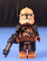 LEGO® STAR WARS™ 75089 Geonosis CLONE COMMANDER DELUXE Minifigure w Helm Antenna