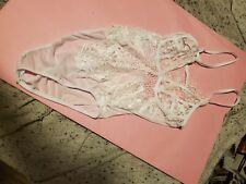 Womens see through White lingerie
