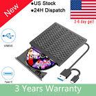 External CD/DVD Drive USB 3.0,Portable Optical USB C Burner Player for Laptop F