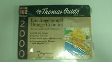 MILLENNIUM 2000 The Thomas Guide 85th year L.A. and Orange Counties.