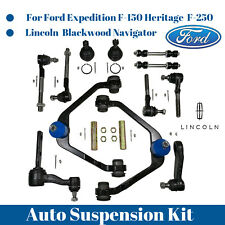 14pc Front Upper Control Arm ball joints  Sway bar Pitman Idler Arm Tie rod end