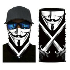 FACE MASK Shield Gaiter Guy Fawkes Washable Reusable - US Shipping - IN STOCK