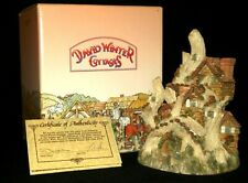"David Winter ""Woodcutter's Cottage� 1983 Retired 1988 Original Box & Cert"