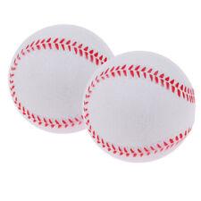 "2pcs 9"" Kids Safety Batting Training Exercise Baseball Softball Bouncy Balls"
