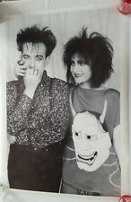 "Siouxsie and the Banshees poster Rare Vintage Robert Smith 25x35"" music (1990s)"