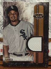 2016 Topps Tier One T1R-JAB White Sox Jose Abreu Game Used Relic Jersey #d /399