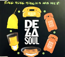 De La Soul ‎Maxi CD Ring Ring Ring (Ha Ha Hey) - France (EX+/VG+)