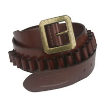 9mm/38 spl Ammo Bandoliers Rifle Cartridges Belt Ammo Carrier Leather-TOURBON