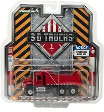 1:64 GreenLight *Sd Trucks 1* 2017 International WorkStar Red Dump Truck Nip!