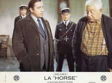 JEAN GABIN  LA HORSE  1970 PHOTO D'EXPLOITATION VINTAGE #3