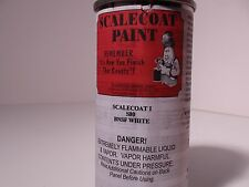 SCALECOAT I PAINT S80 BNSF WHITE 6.oz ALL COLORS & SCALECOAT PRODUCTS