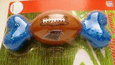 NFL Football Camiseta Carolina Panthers Nº Dog Chew Toy hueso Sport Bonez Nuevo