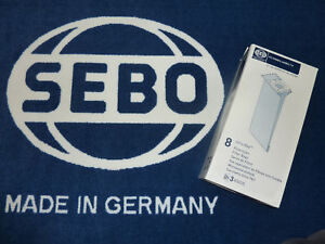 SEBO Filterbox Airbelt K 6629ER Staubsaugerbeutel 6629 8 Staubsaugertüten Tüten