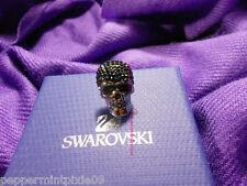 Women Swarovski Pavé Crystal Skeletal Skull Pin 1158000 New Tags/Box SALE! last1