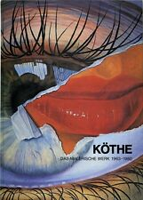 Fritz Köthe the PICTURESQUE WORKS 1963-1980, Book - NEW