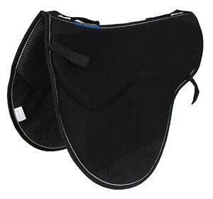 Horse Western Endurance Non-Slip Neoprene Saddle Pad Black 6405BK1