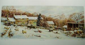 John Wood - Home Farm - Yorkshire Dales - Artist Proof No. AP 24/25 - Print Only
