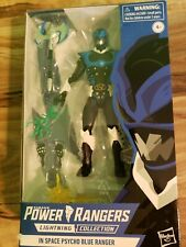 Power Rangers Lightning Collection In Space Psycho Blue Ranger MIB