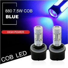 2pcs 880 899 Blue COB LED Projector Lens Bulbs Car Driving Fog Light Lamps