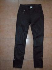 WITCHRY skinny wet look  stretchy  jeans  Sz-8 100%Authentic