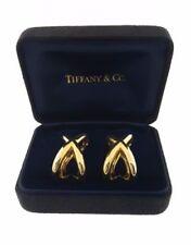 Pendientes de joyería de metales preciosos sin piedras clips de oro amarillo