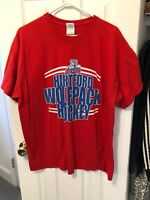 Hartford Wolf Pack Red American Hockey League Shirt Size XL Wolfpack Rangers