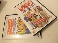 DVD  lote de 2 AMERICAN PIE ( una fiesta de pelotas y fraternidad beta )