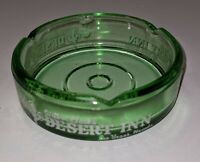 Vintage Desert Inn Vintage Las Vegas Ashtray Casino Advertising Green Glass