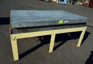"""48""""x72"""" Granite Table on Stand (Inv.38241)"""