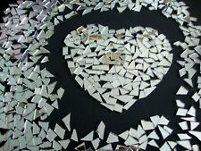 1000 Pieces, SMALL Off cuts  Silver Glass Mirror. 2 mm Thickness. Art&Craft,