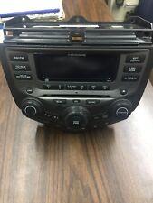 2003-2007 Honda Accord Radio 6 CD Player AC Heat Control Unit OEM