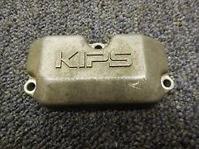 1988 Kawasaki KX125 Cylinder power exhaust valve cover 88 KX 125