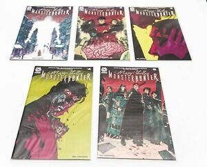 Aftershock Comics Mary Shelley Monster Hunter Full Story Arc #1 - 5 Brand New