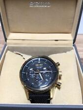 Seiko 8T63-00H0 Chronograph 50th Anniv. Special Edition SS Quartz Mens Watch