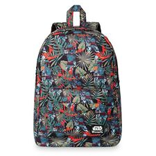 Disney Store Loungefly Boba Fett Backpack Star Wars School Hand Laptop Bag Tote