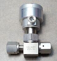 Stainless Steel Bellows Sealed Valve, SS-4BK-V51-1C, 1/4 in. Female Swagelok VCR