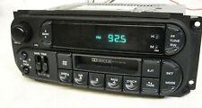 Dodge Chrysler Jeep radio tuner cassette player 02-07 5064335 Sebring Neon RBB
