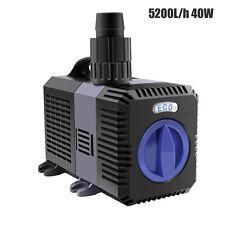 5200L/h 40W ECO Teichpumpe Bachlaufpumpe Filterpumpe Teich Pumpe Wasserpumpe