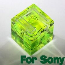 One Hot Shoe Three Axis Double Bubble Spirit Level for Sony Camera New