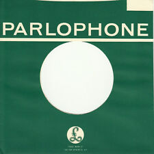 FIRMENLOCHCOVER * PARLOPHONE * Repro COVER * NEU * TOP Single AUFWERTUNG