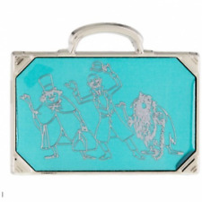 Disney Pin 116629 Haunted Mansion Hitchhiking Ghosts Metallic Glass Suitcase