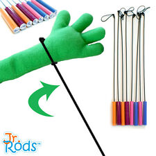 Jr. Rods™ Puppet Arm Rods Pair - Chose your color! Professional Puppet ministry