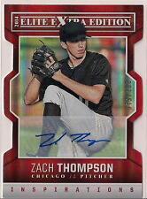 2014 Elite Extra Edition Zach Thompson RC INSPIRATIONS Auto 79/100 Rookie