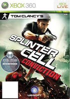 Tom Clancy's Splinter Cell: Conviction Xbox 360 Xbox one MINT -1st Class Deliver