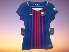 FC Barcelona Women's Nike Stadium Home Colored Jersey Size S