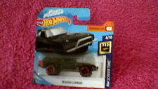 """Hot Wheels - UK Card - #104 """"Fast & Furious"""" '70 Dodge Charger - Black"""