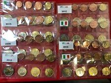 ITALIA ITALY ITALIEN 8 MONETE FDC SERIETTA dal 2002 al 2020 ENTRA SCEGLI